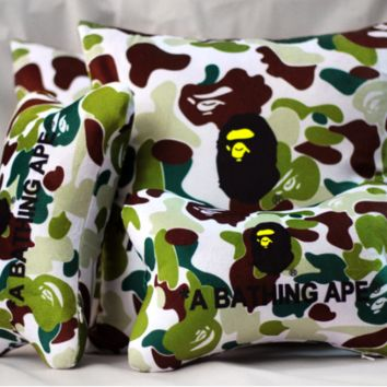 Cars Camouflage Stylish Neck-protected Strong Character Cushion [10779759943]