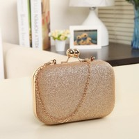 Clutches Evening Bag Gold Crystal Day Wallet wedding