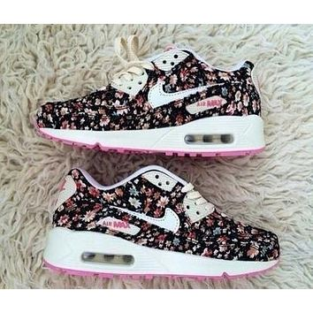 Nike Women Floral Sneakers Sport Shoes