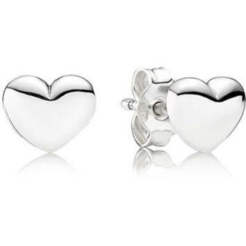Authentic Pandora Jewelry - Hearts Stud Earrings