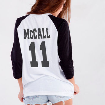 Teen Wolf Scott Mccall TShirt for Teen Girl Blogger Tumblr Instagram Clothing Merch Fashion Shirt Birthday Girlfriends Christmas Gifts