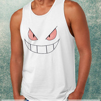 Pokemon Gengar Clothing Tank Top For Mens