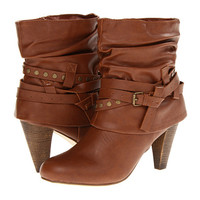 Madden Girl Polyy Cognac Paris - Zappos.com Free Shipping BOTH Ways