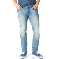 Stanton Super Skinny Destroyed Medium Wash Jean