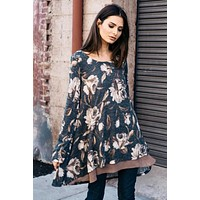 Floral Tiara Tunic Dress