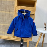 Canada Goose Children's clothing Baby's Sets Boys Girls Fashion Casual Loose Hooded Cardigan Jacket Coat