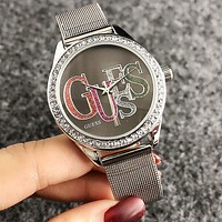 GUESS Trending Women Men Stylish Diamond Personality Watch Wristwatch