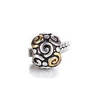 Bling Jewelry Tribal Swirl Charm