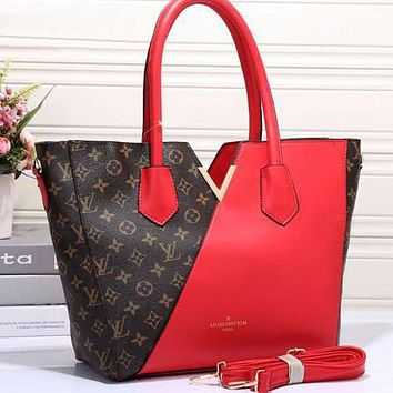 Perfect Louis Vuitton LV Women Shopping Leather Tote Crossbody Satchel Shoulder Bag