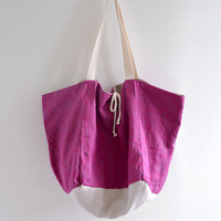 Candy Love Tote Bag - reversible bag, double sided tote