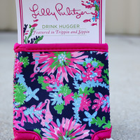 Lilly Pulitzer Koozie – Trippin' and Sippin'
