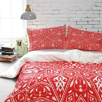 Aimee St. Hill for DENY Amirah Duvet Cover-