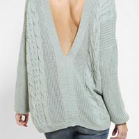 Pins And Needles V-Back Sweater