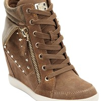 GUESS Women's Shoes, Hitzo Wedge Sneakers - Finish Line Athletic Shoes - Shoes - Macy's