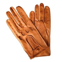 Lambskin and Deerskin Leather Driving Gloves