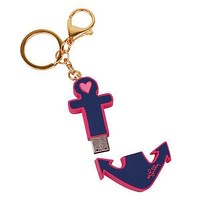 Keychain with USB Flash Drive in Anchor by Lilly Pulitzer