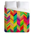 Rebecca Allen Color Quest Duvet Cover