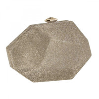marina gold plated clutch - Google Search