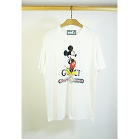 Gucci Fashion Letter Print Short Sleeve T-Shirt