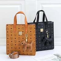 MCM hot sale classic tote bag shopping bag fashion lady shoulder bag