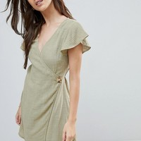 Zulu & Zephyr Exclusive Wrap Tie Beach Dress at asos.com