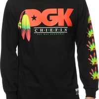 DGK Stay Chiefin Long Sleeve T-Shirt