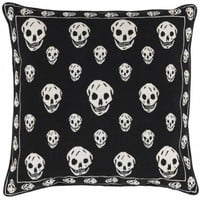 Fancy - Alexander McQueen for the Rug Company Skull-Print Pillow