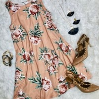Day Dreaming in Florals Pocket Dress