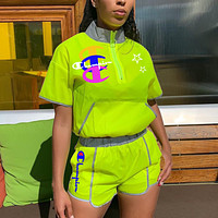 CHAMPION Womens Two Piece Top and Shorts Set Clothing K8024