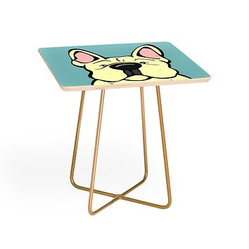 Angry Squirrel Studio French Bulldog 22 Side Table
