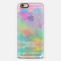 Neon Heartstrings 2 - transparent iPhone 6 case by Micklyn Le Feuvre | Casetify