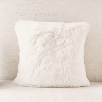 Plum & Bow Faux Fur Pillow   Urban Outfitters