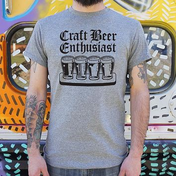 Craft Beer Enthusiast T-Shirt (Mens)