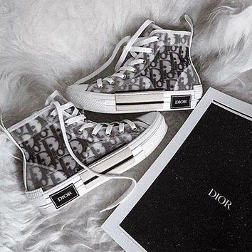 DIOR High Letter recreational sneakers shoes