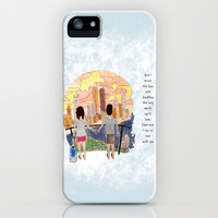 Hazel and Gus iPhone & iPod Case by Anthony Londer | Society6