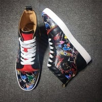 Cl Christian Louboutin Style #2113 Sneakers Fashion Shoes