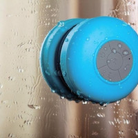 Mini HIFI Waterproof Wireless Bluetooth Handsfree Mic Suction Speaker Shower Car = 1945868868
