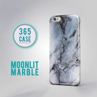 Moonlit Marble Samsung Galaxy S3 case Marble Samsung S4 case  Samsung S5 case Samsung S6 case Samsung S6 Edge Blue Marble iPhone 6 case