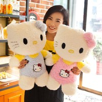 MarAngel 1pc 32cm New Kawaii Standing Hello Kitty Stuffed Soft Cartoon Plush Toys for Chidlren Lovely Kids Appease Doll Gift