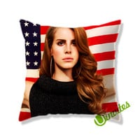 Lana Del Rey Square Pillow Cover