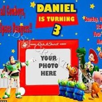 12 TOY STORY Birthday party invitations PRINTED