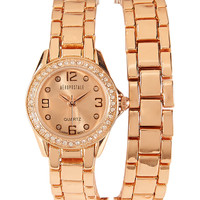 Aeropostale  Metal Wrap Watch