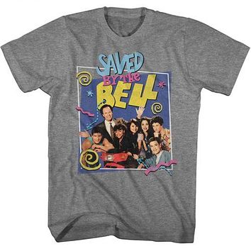 Saved By The Bell Group Mr. Belding Mens T-Shirt