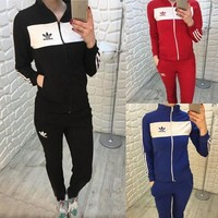 ADIDAS The new women's sports leisure suit