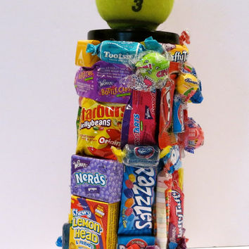 Candy Covered Can of Tennis Balls