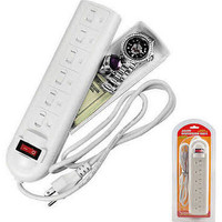 White Surge Protector Security safe
