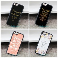 Bible Verse Jesus Christ iphone Cell Phone Case