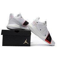 Jordan Chris Paul CP3 XI Basketball Shoe - White/Black