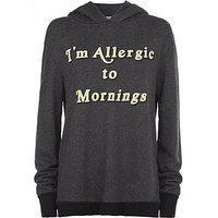 Wildfox - Allergic To Mornings Hoodie at Harrods