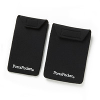 PortaPocket Accessory Pockets ~ fits passports and small cellphones